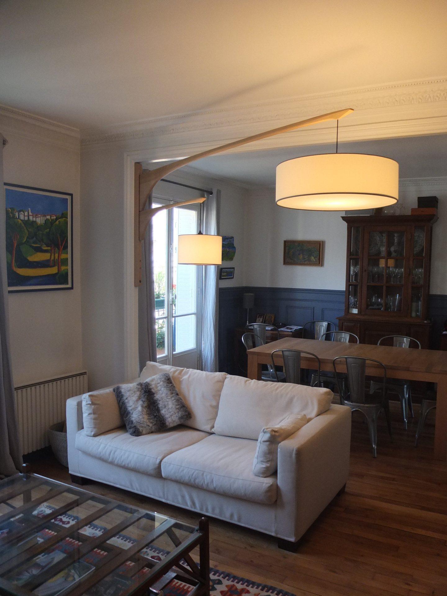 Double potence pivotante Stockholm sur mesure